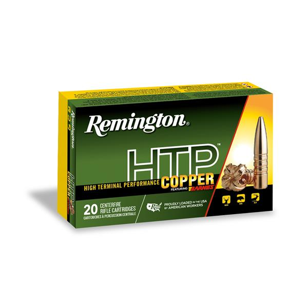 Remington - Balles HTP Copper