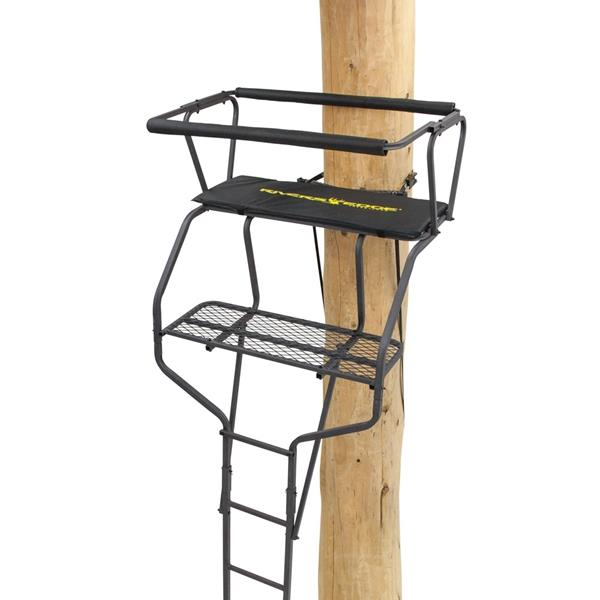 Rivers Edge Treestands - Mirador 2-Man 18pi