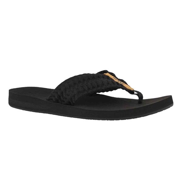 3e8093d5cbdf9 Reef - Women s Reef Cushion Threads Sandals. Black