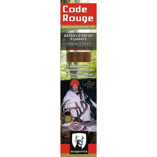 Buck Hunter - Encens Code Rouge pour orignal