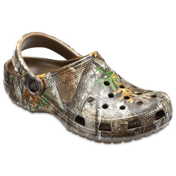 Crocs - Men's Classic RealTree Edge Clogs Shoes
