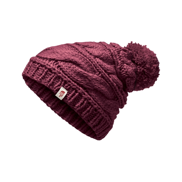87590c11d99b6 Women s Triple Cable Pom Beanie - The North Face
