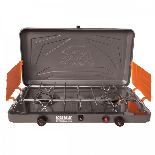 Kuma Outdoor Gear - Réchaud Deluxe au propane à 2 brûleurs