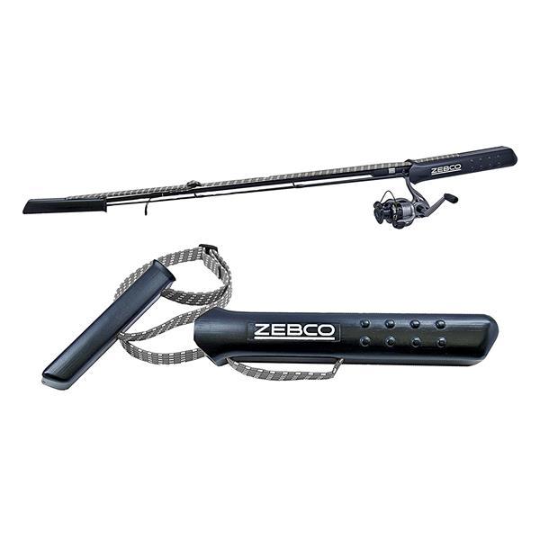 Zebco - Étui à canne à pêche Caddy pour canne 2 pièces et combos