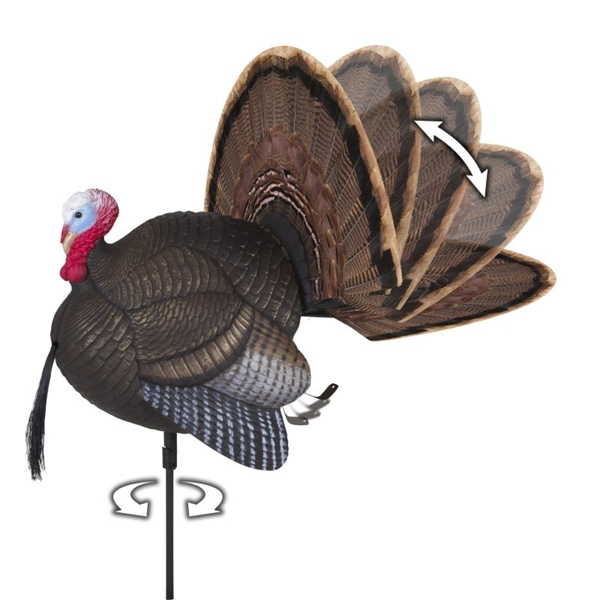 Flambeau - Spin-N-Strut Turkey Decoy
