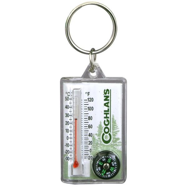 Coghlan's - Zipper Pull Thermometer with Compass