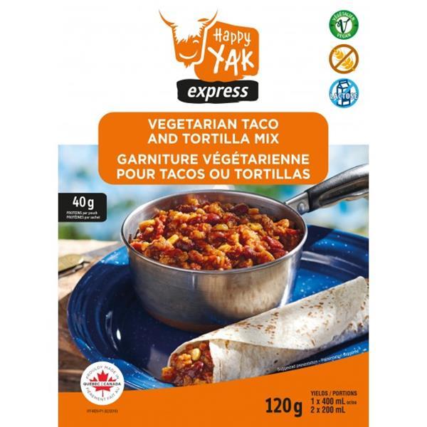 Happy Yak - Vegetarian Taco and Tortilla Mix