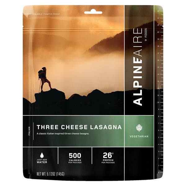 Alpine Aire Foods - Three Cheese Lasagna Pack