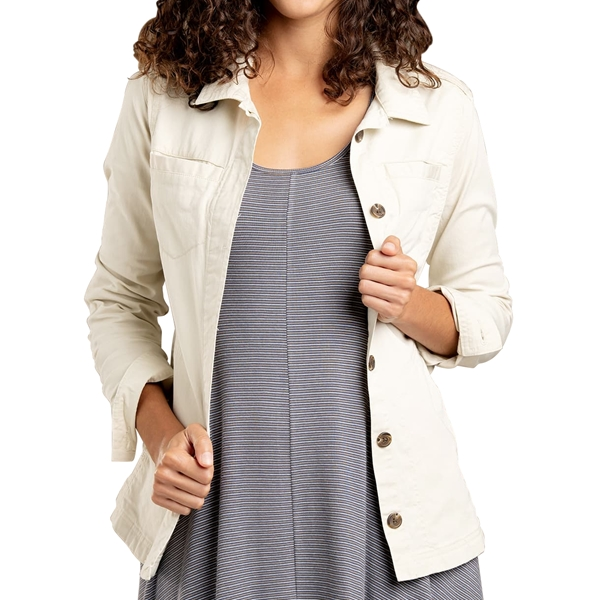 Toad and Co. - Veste Chemise Carson Shirtjac pour femme