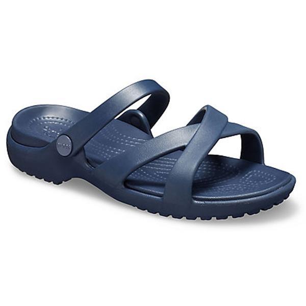 Crocs - Women's Meleen Cross-Band Sandals