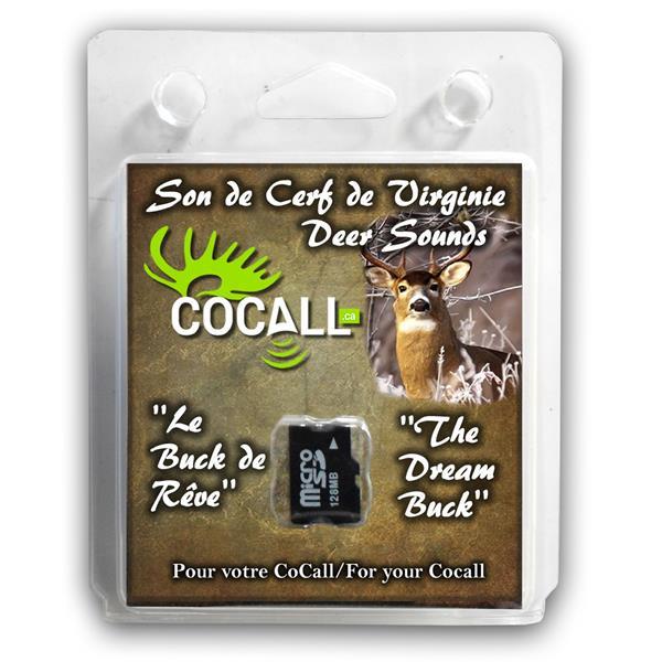 Cocall - Carte de son de cerf de Virginie