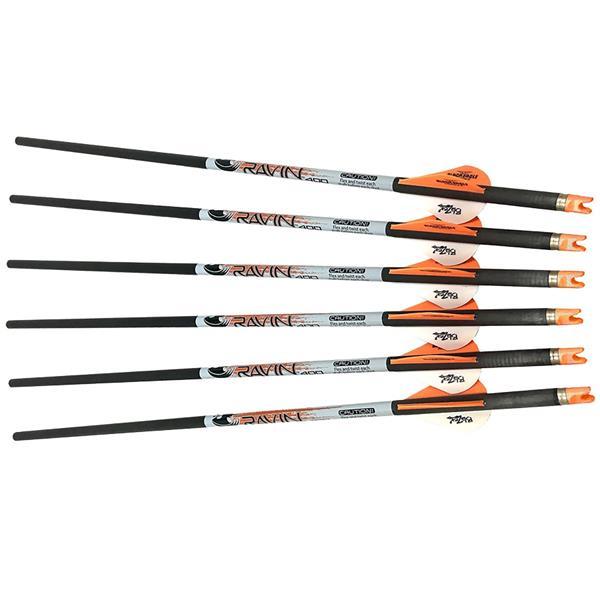 Ravin Crossbows - Ensemble de 6 flèches Ravin Premium