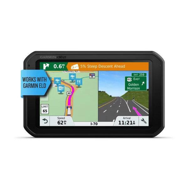 Garmin - Navigateur GPS pour camion dēzl 780 LMT-S