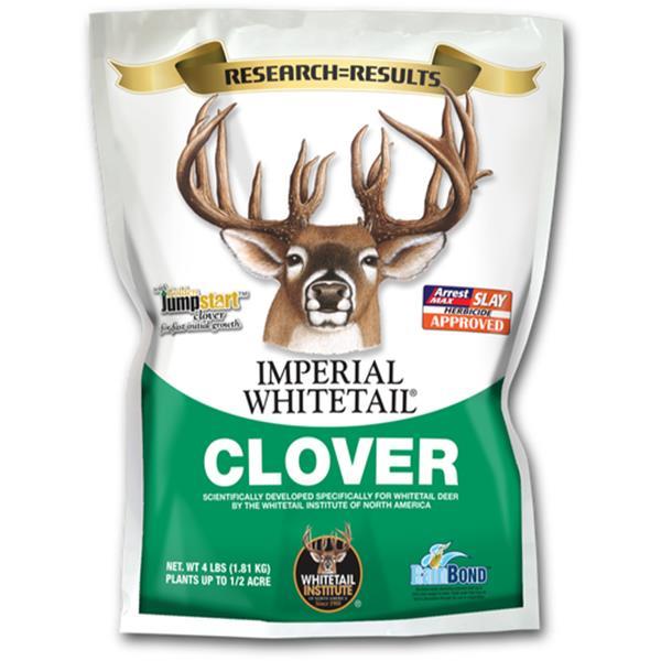 White Flyer - Semences de trèfles Imperial Whitetail 4 lb