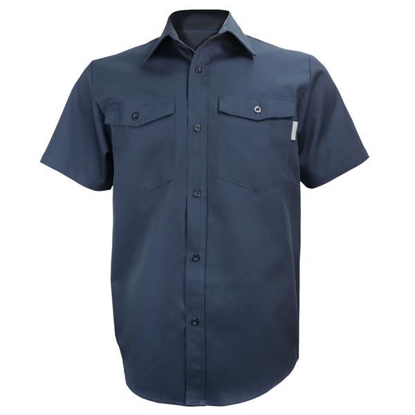 Gatts - Chemise de travail à manches courtes pour homme