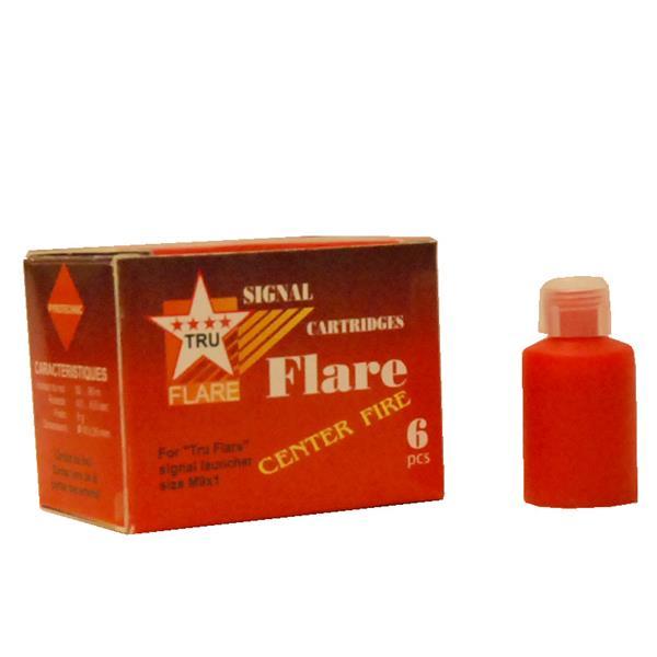Tru Flare - Boite de 6 fusées éclairantes rouges #5530