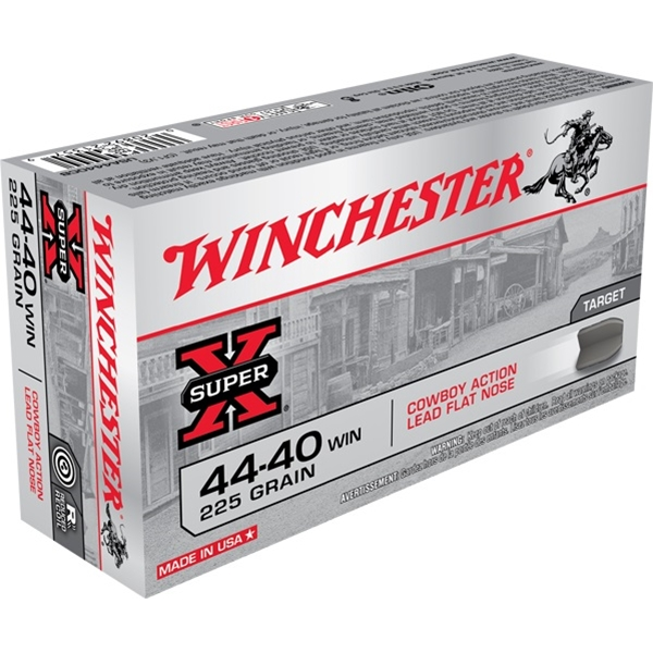 Winchester - Balles Lead .44-40 WIN 225gr