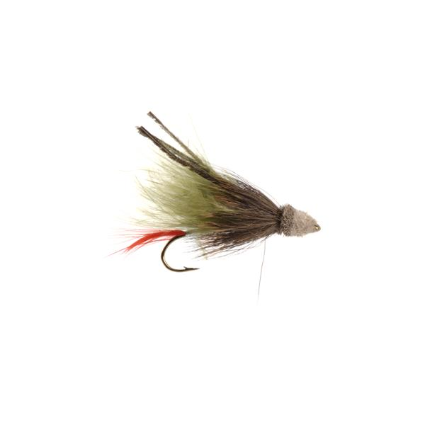 Mouches Neptune Flies - Mouche Olive Muddler Marabout