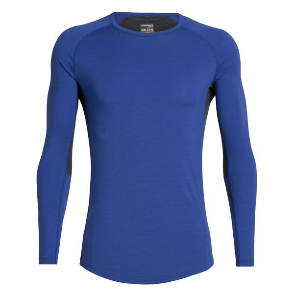 Icebreaker - Men's 200 Zone Crewe Long Sleeve Shirt