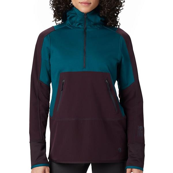 Mountain Hardwear - Women's Frostzone Hybrid 1/2 Zip Hoody