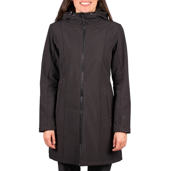 Pèlerin - Manteau long softshell pour femme