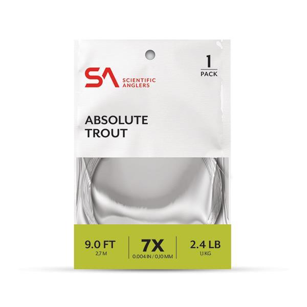 Scientific Anglers - Bas de ligne Absolute Trout