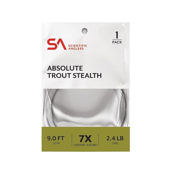 Scientific Anglers - Bas de ligne Absolute Trout Stealth