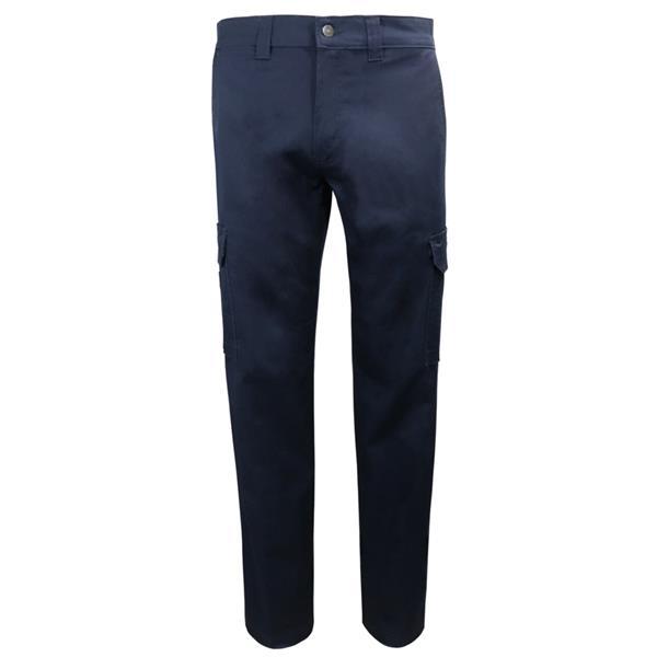Gatts - Pantalon de travail cargo extensible pour homme