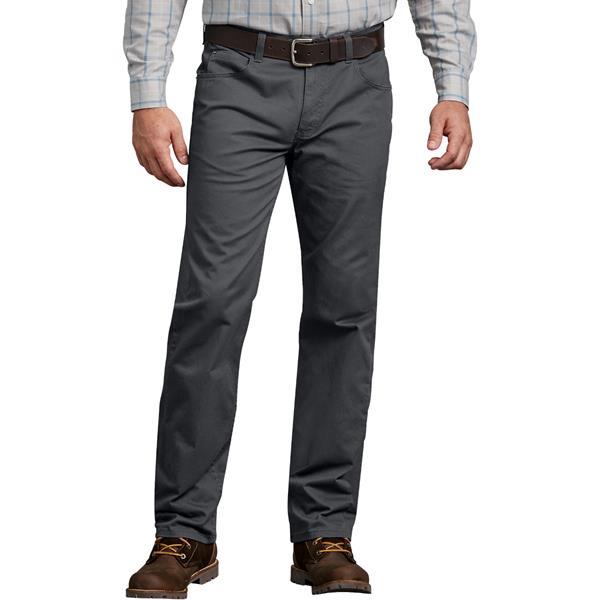 Dickies - Pantalons 5 poches Flex pour homme