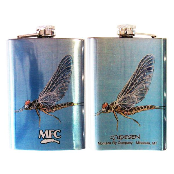 Montana Fly Company - Printed Stainless Steel Flask