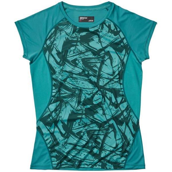 Marmot - T-shirt à manches courtes Crystal pour femme