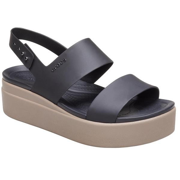 Crocs - Sandales Brooklyn Low Wedge pour femme