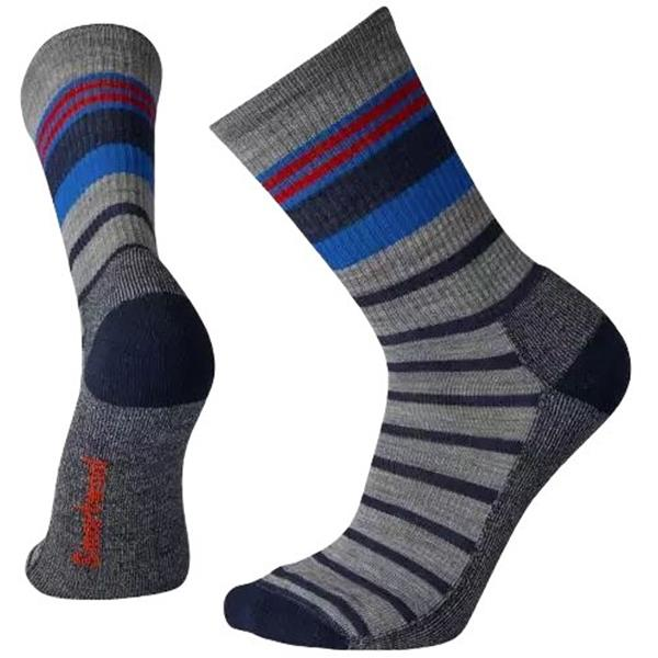 Smartwool - Men's Striped Light Hiking Crew Socks