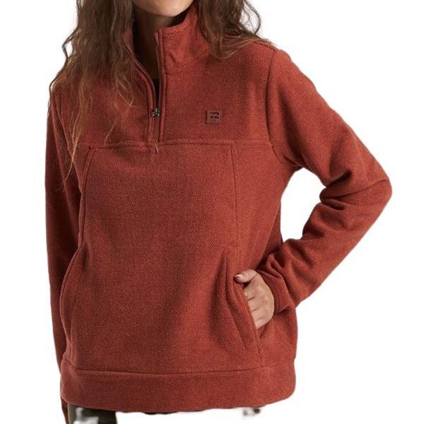 Billabong - Women's Boundary Mock Neck Fleece Sweater