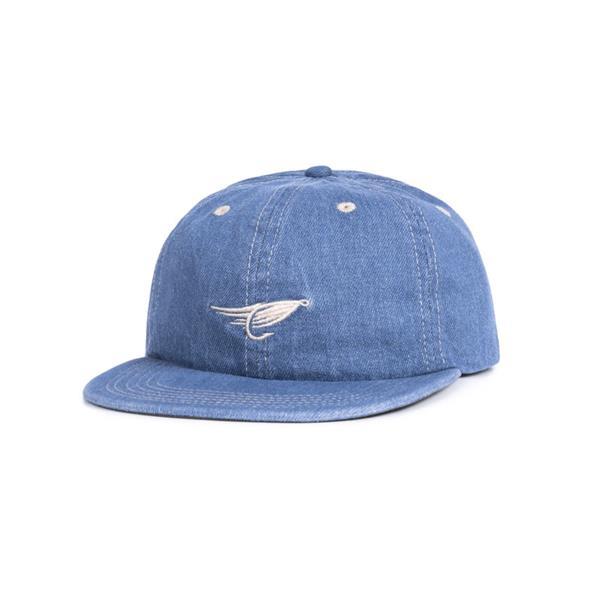 Hooké - Casquette Fly Denim Strap Back Bleu