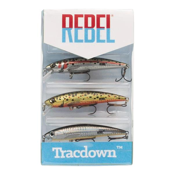 Rebel - Tracdown Ghost Minnow 3-Pack