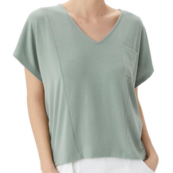 Lolë - T-Shirt à col en V Downtown pour femme