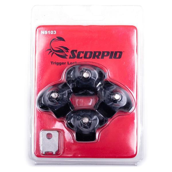 Scorpio - Barrure Trigger Lock paquet de 4