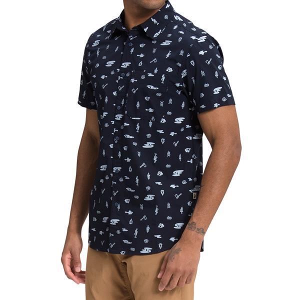 The North Face - Chemise Pattern Baytrail à manches courtes pour homme