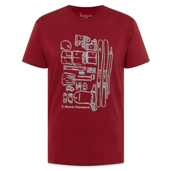Black Diamond Equipment - T-shirt Ski Gear pour homme