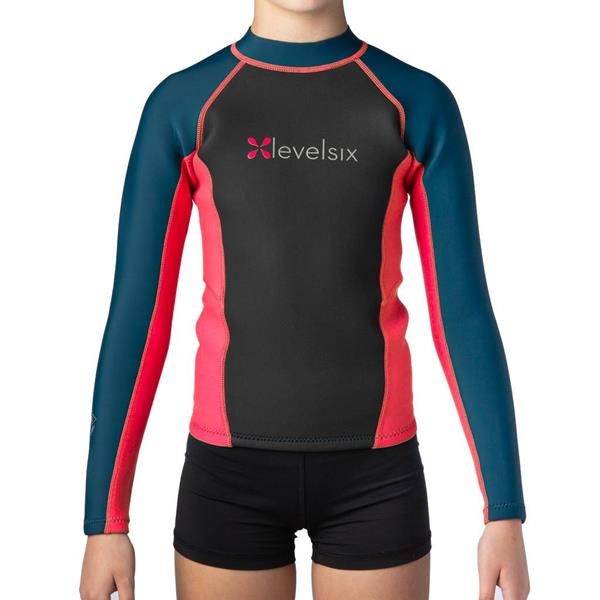 Level Six - Kids' Carver Long Sleeve Neoprene Top