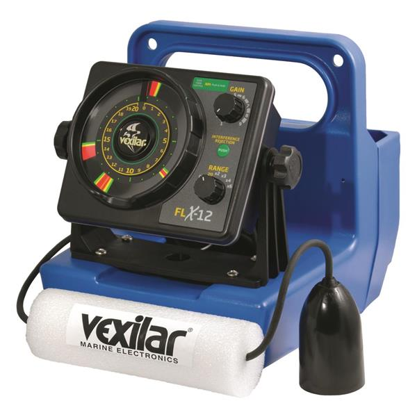 Vexilar - Sonar FLX 12 avec Ice Ducer 12°
