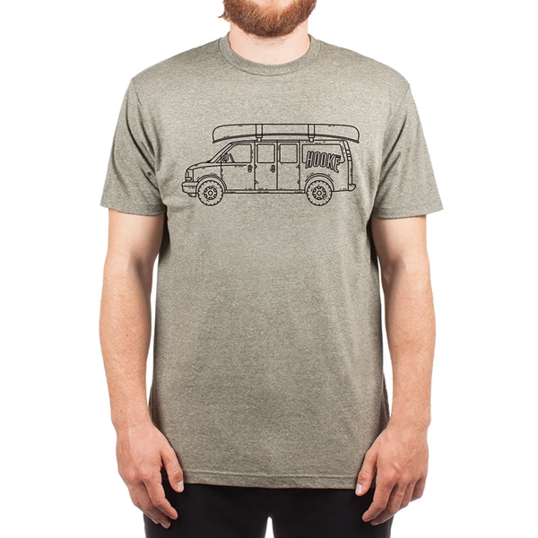 Hooké - T-shirt Hooké Van pour homme