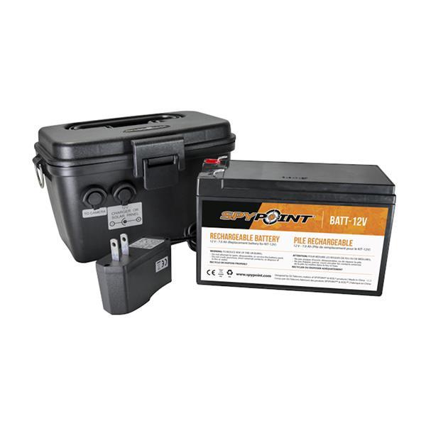 Spypoint - Ensemble de batterie 12V