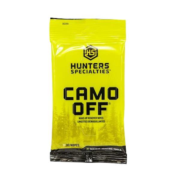 Hunter's Specialties - Lingettes démaquillantes Camo Off