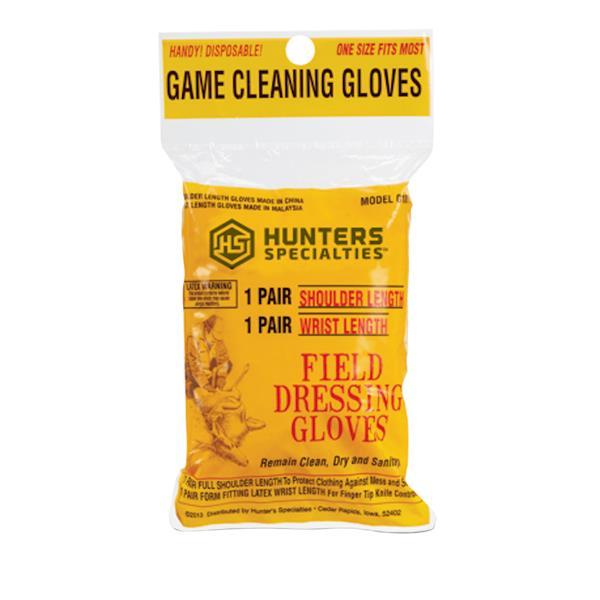 Hunter's Specialties - Ensemble de gants en latex 10171