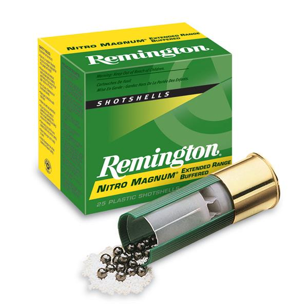 Remington - Cartouches Nitro Magnum 20 Ga 2 3/4 po