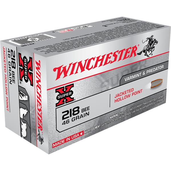 Winchester - Winchester 218 Bee, 46 Grains Ammunitions