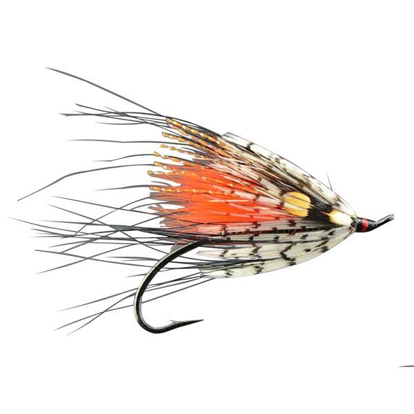 Gaspé Fly - Picasse Orange Salmon Fly