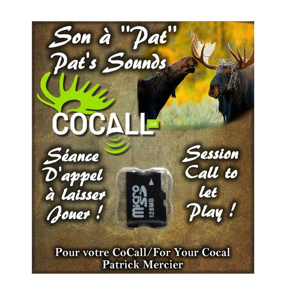 Cocall - Carte de séance d'appel à Pat